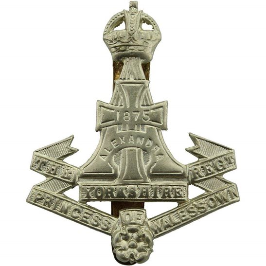 Yorkshire (Green Howards) WW2 Yorkshire (Green Howards) Regiment Cap Badge