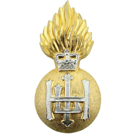 Royal Highland Fusiliers Regiment Staybrite Anodised Cap Badge - Staybright