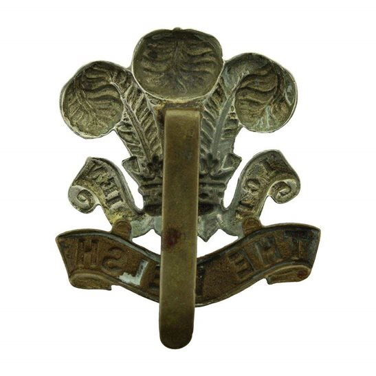 additional image for WW1 Welsh Regiment (Welch) Cap Badge