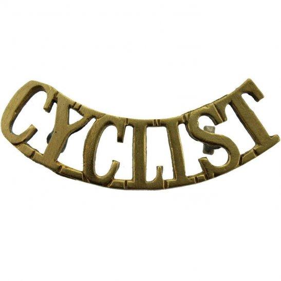 Army Cyclist Corps WW1 Army Cyclist Corps (Cyclists Regiment) Shoulder Title