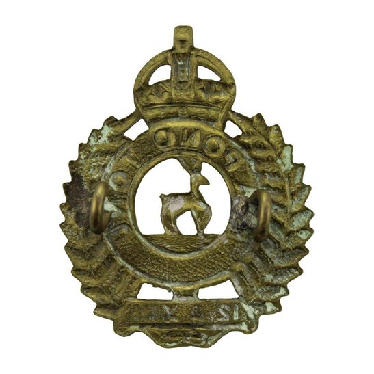additional image for WW1 New Zealand Army 12th & 13th Nelson Infantry Regiment Cap Badge