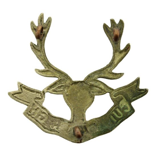 additional image for WW1 Seaforth Highlanders Regiment Cap Badge 3X LUGS VERSION