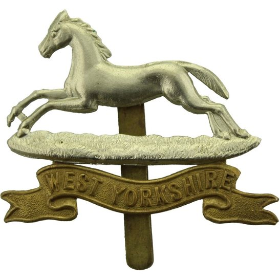 West Yorkshire WW1 West Yorkshire Regiment Cap Badge