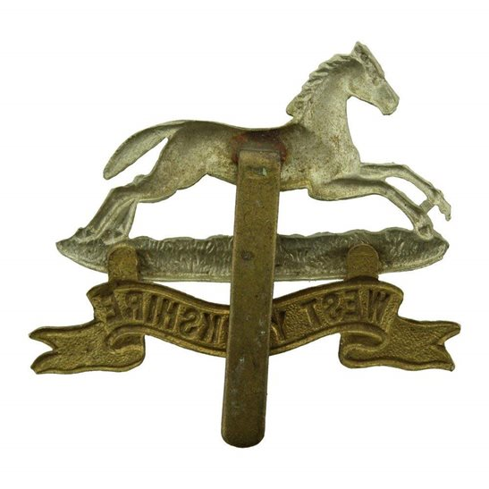 additional image for WW1 West Yorkshire Regiment Cap Badge