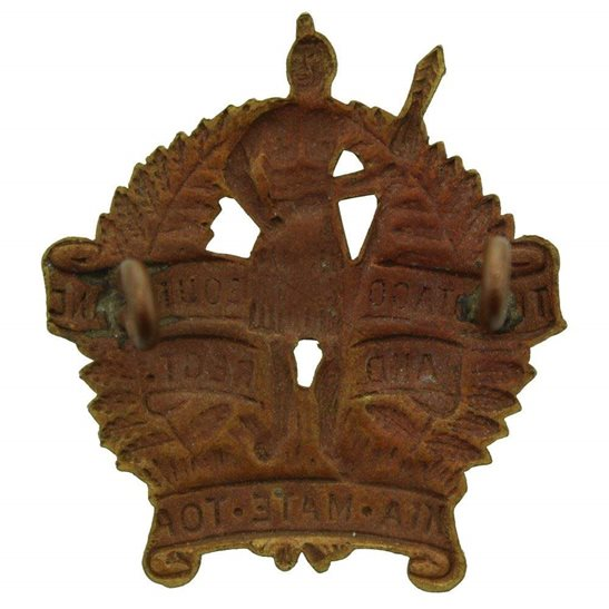 additional image for New Zealand Army Otago and Southland Regiment Cap Badge