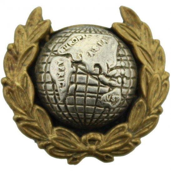 Royal Marines Royal Marines Corps OFFICERS Bi-Metal Collar Badge