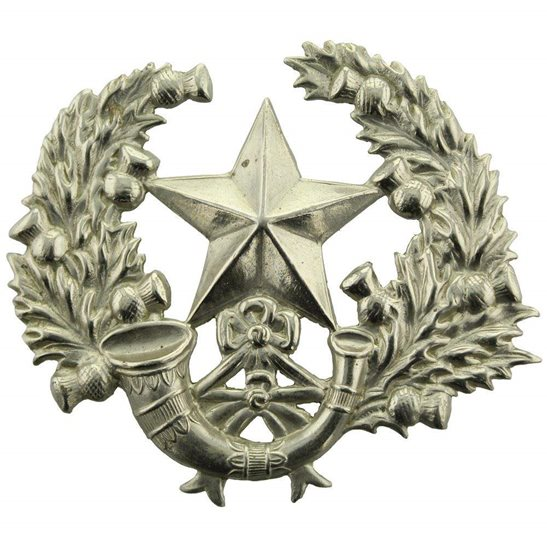 Scottish Rifles WW1 The Cameronians (Scottish Rifles) Regiment Cap Badge