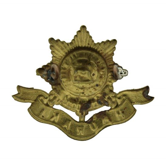 additional image for WW1 New Zealand Army 6th Hauraki Regiment Cap Badge