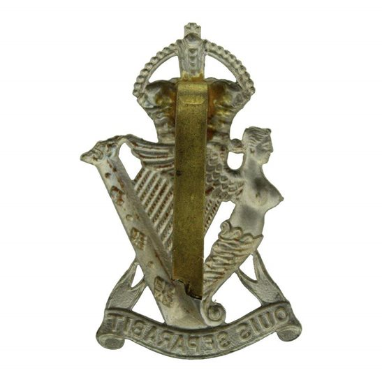 additional image for WW1 Royal Irish Rifles Regiment Cap Badge