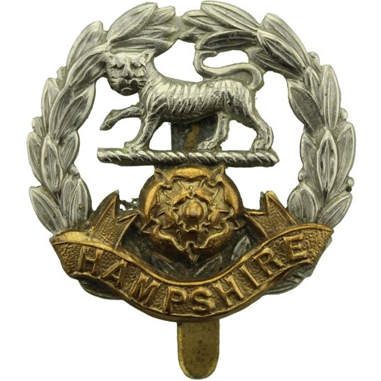 Hampshire Regiment WW2 Hampshire Regiment Cap Badge