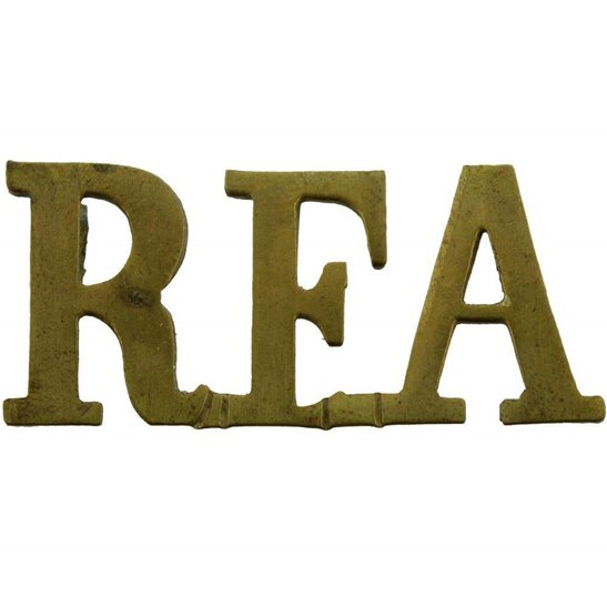 Royal Field Artillery RFA WW1 Royal Field Artillery RFA Shoulder Title