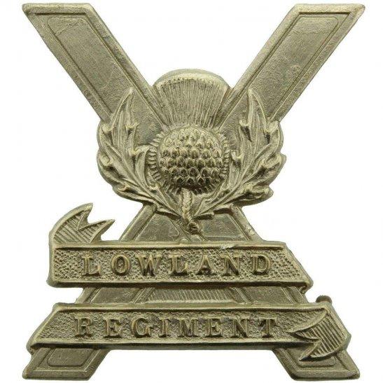 Lowland Brigade Scottish Lowland Regiment Brigade Cap Badge