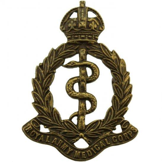 Royal Army Medical Corps RAMC Royal Army Medical Corps RAMC OFFICERS Bronze Collar Badge