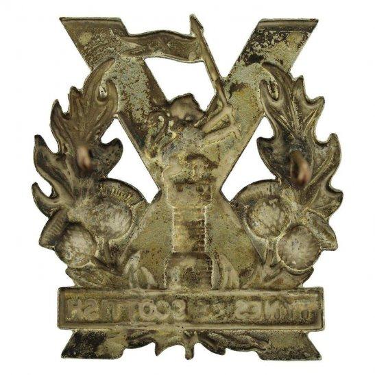 additional image for WW1 Tyneside Scottish Regiment Cap Badge