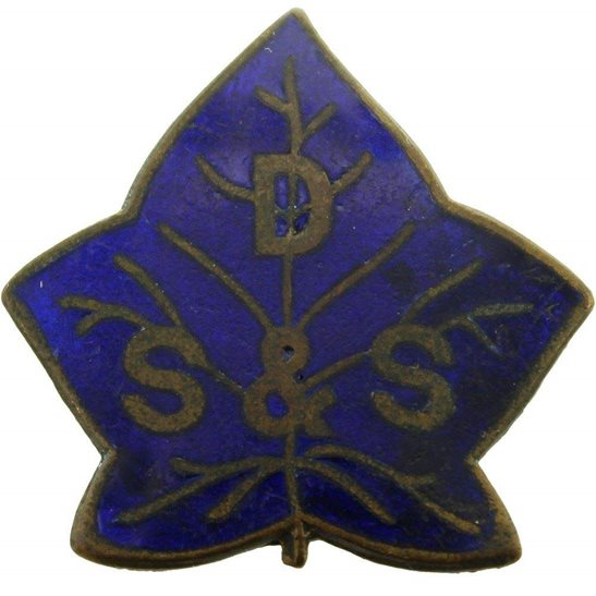 WW1 Disabled Soldiers and Sailors DS&S Lapel Badge