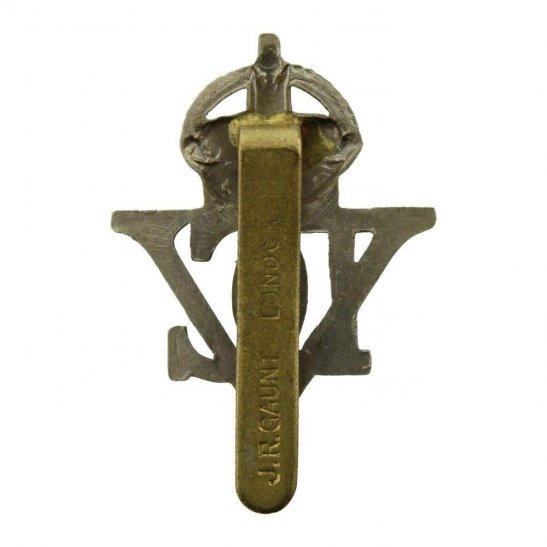 additional image for WW2 5th Royal Inniskilling Dragoon Guards Regiment Irish Cap Badge J.R. GAUNT LONDON