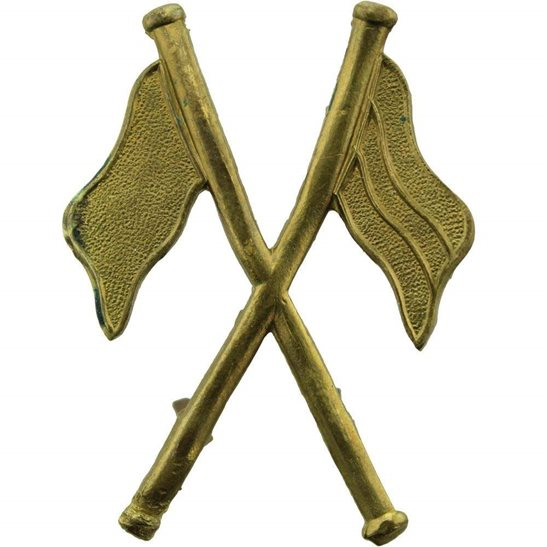 Royal Corps of Signals RCOS WW2 Regimental Signallers Proficiency in Signals Arm Trade Badge