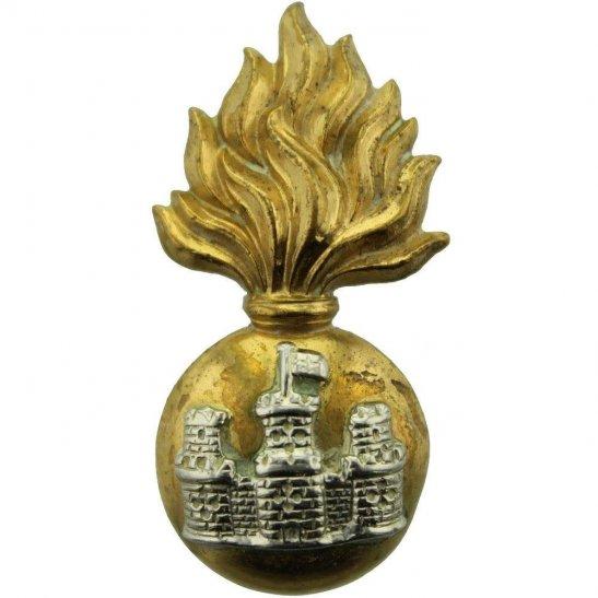 Royal Inniskilling Fusiliers WW2 Royal Inniskilling Fusiliers Regiment Irish Collar Badge