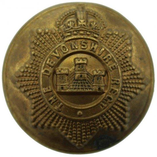 Devonshire Regiment WW1 Devonshire Regiment Tunic Button - 26mm