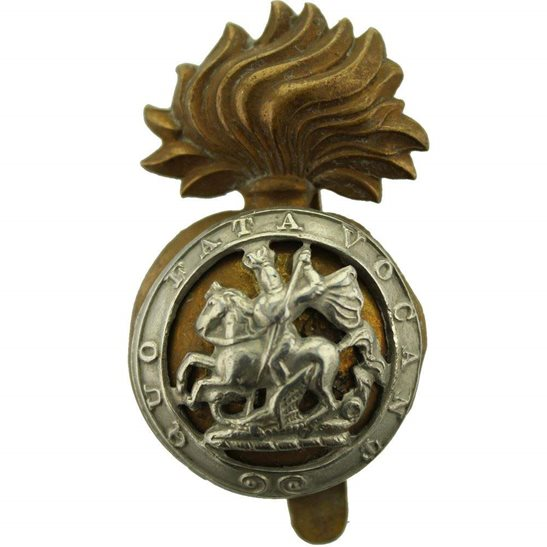 Northumberland Fusiliers WW1 Northumberland Fusiliers Regiment Cap Badge