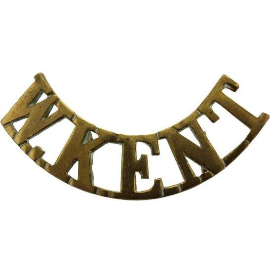 Royal West Kent BOER WAR Royal West Kent Regiment RWK Shoulder Title