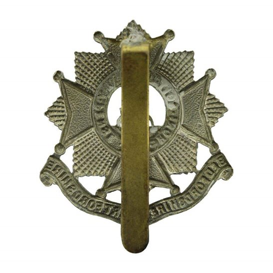 additional image for WW2 Bedfordshire and Hertfordshire Regiment Cap Badge