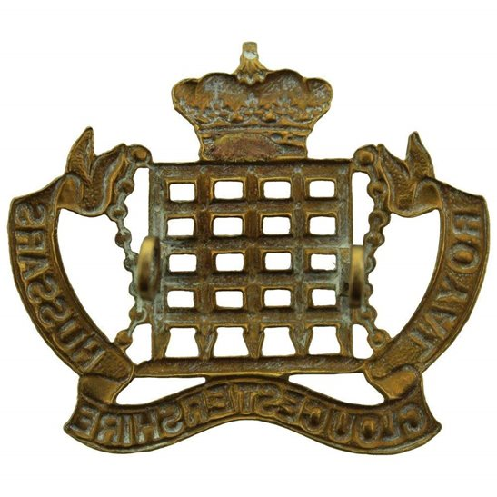 additional image for WW1 Royal Gloucestershire Hussars Imperial Yeomanry Regiment Cap Badge