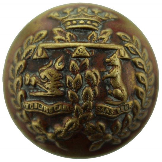 Argyll and Sutherland Highlanders WW1 Argyll and Sutherland Highlanders Scottish Regiment Tunic Button - 26mm