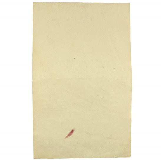 additional image for WW1 Death Penny / Memorial Plaque Buckingham Palace Letter Insert Slip