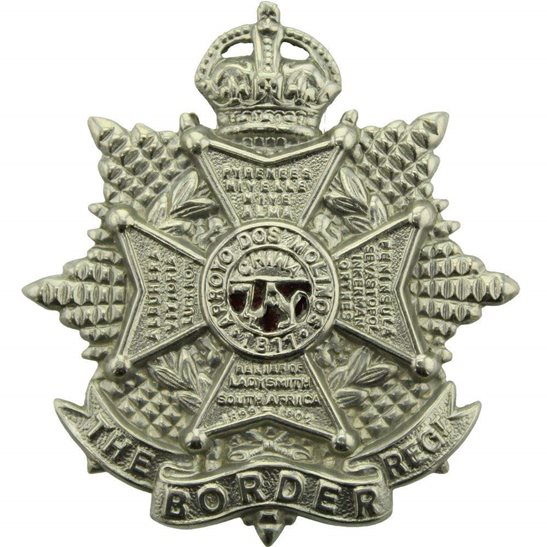Border Regiment WW2 The Border Regiment Cap Badge