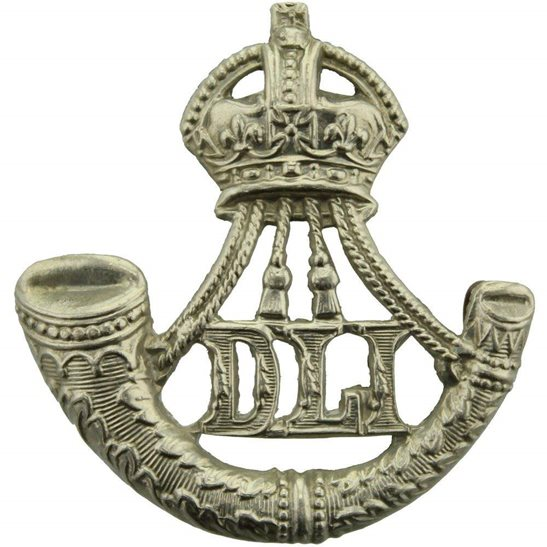 Durham Light Infantry Durham Light Infantry DLI Regiment Cap Badge - EARLY LUGS VERSION