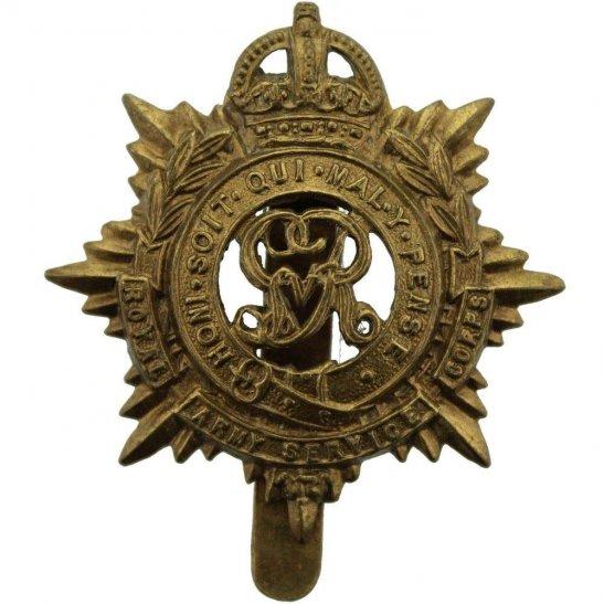 Royal Army Service Corps RASC WW1 Royal Army Service Corps (George V) RASC Cap Badge