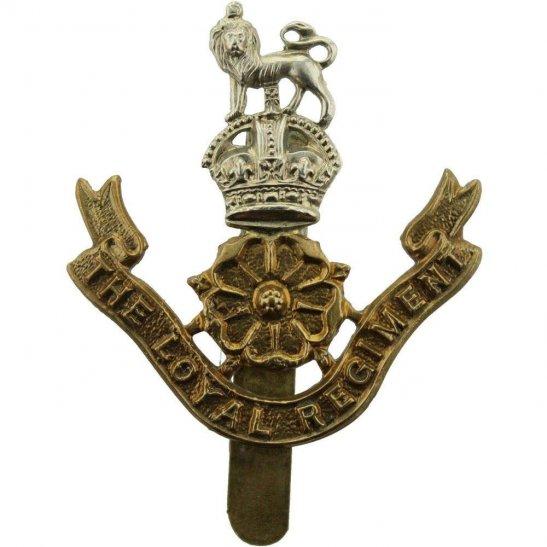 Loyal North Lancashire WW1 Loyal North Lancashire Regiment Cap Badge - FIRST PATTERN