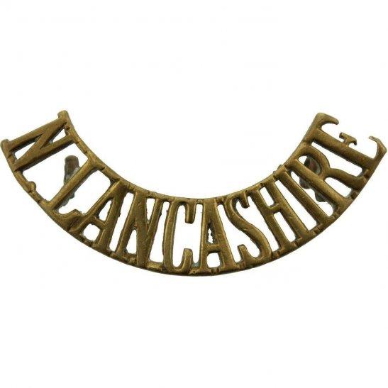 Loyal North Lancashire WW1 Loyal North Lancashire Regiment Shoulder Title