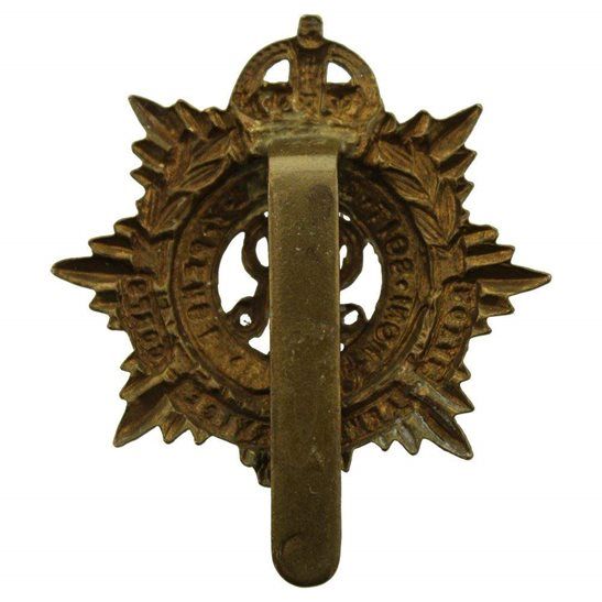 additional image for WW1 Royal Army Service Corps (George V) RASC Cap Badge
