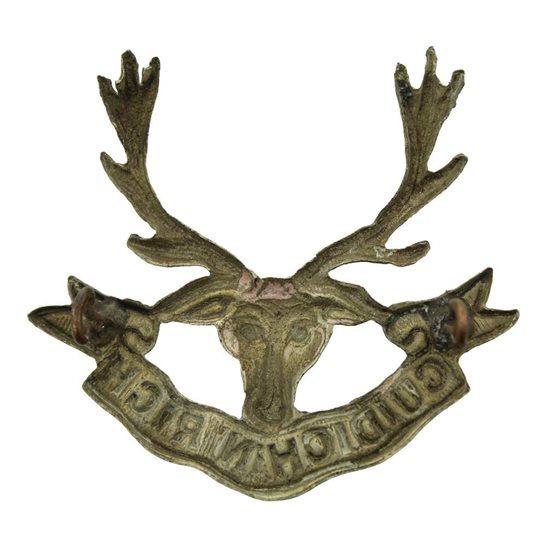 additional image for WW1 Seaforth Highlanders Regiment Cap Badge 2X LUGS VERSION