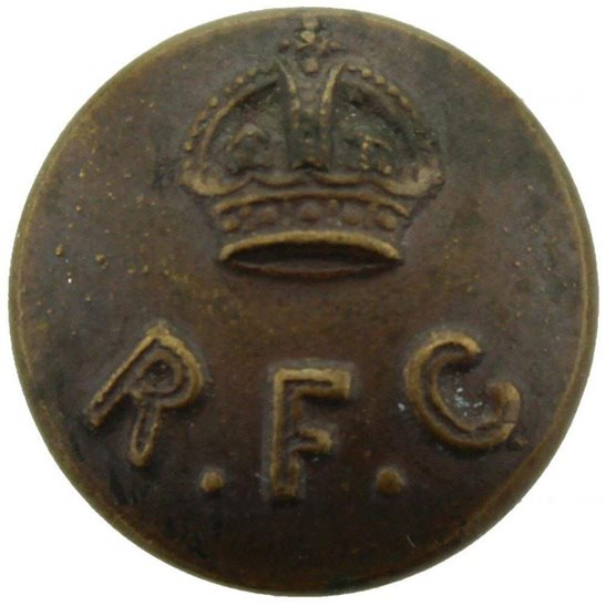 Royal Flying Corps RFC WW1 Royal Flying Corps RFC Tunic Button - 15mm