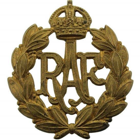 Royal Air Force RAF WW2 Royal Air Force RAF Cap Badge