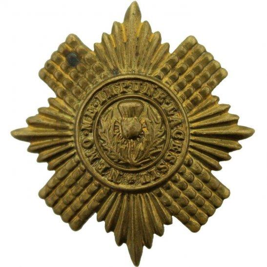 Scots Guards WW1 Scots Guards Regiment (Scottish) Cap Badge