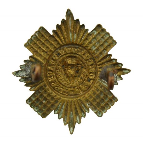 additional image for WW1 Scots Guards Regiment (Scottish) Cap Badge