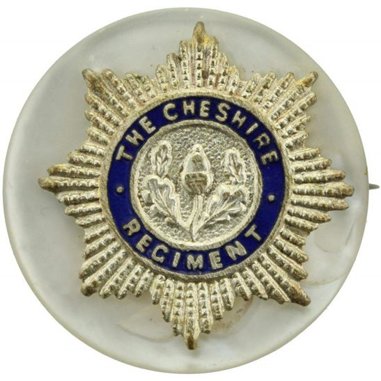 Cheshire Regiment Cheshire Regiment Sweetheart Brooch
