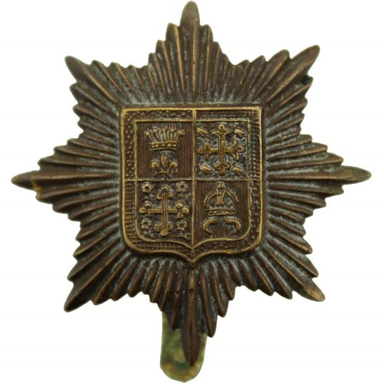 London Battalions WW1 13th (Kensington) Battalion, County of London Regiment Cap Badge