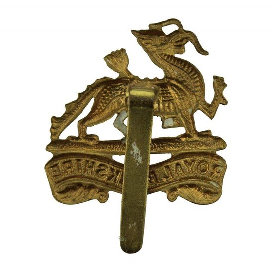 additional image for WW2 Royal Berkshire Regiment Cap Badge
