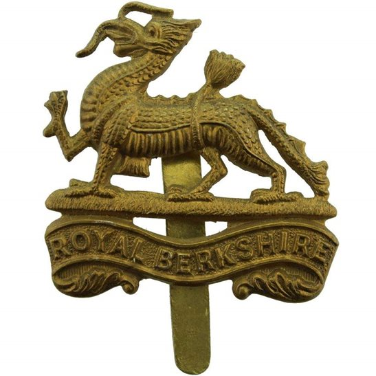 Royal Berkshire WW2 Royal Berkshire Regiment Cap Badge