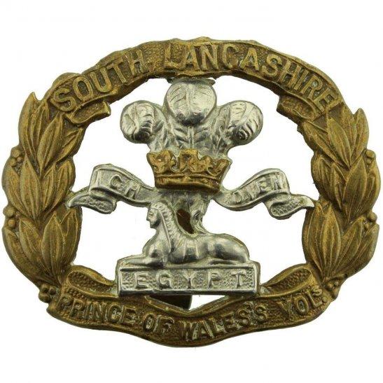 South Lancashire WW1 South Lancashire Regiment Cap Badge