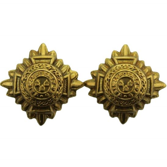 British Army Officers Insignia Pips - Rank of 2nd Lieutenant Set PAIR - 23mm Diagonally