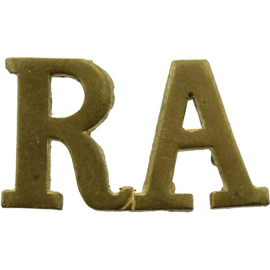 Royal Artillery WW2 Royal Artillery Regiment RA Shoulder Title