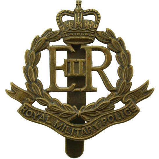 Royal Military Police RMP Royal Military Police Corps RMP Cap Badge (Elizabeth II) Queens Crown