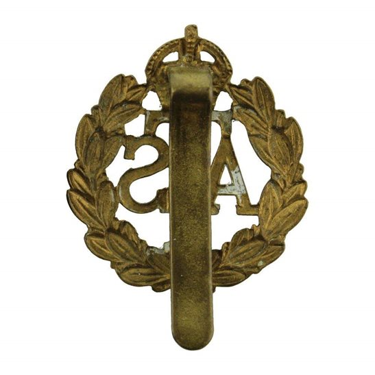 additional image for WW2 Auxiliary Territorial Service Corps ATS Cap Badge