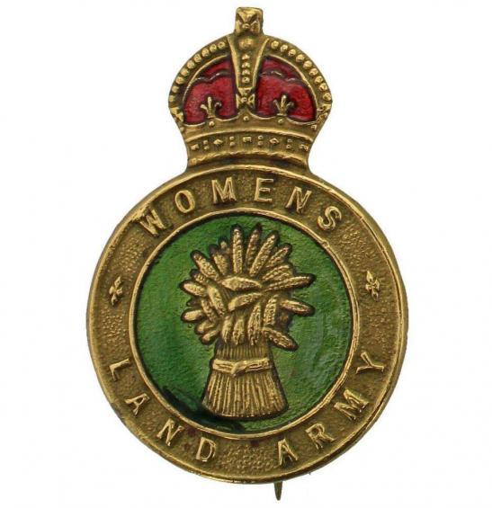 WW2 Womens Land Army WLA (Women's) Lapel Badge